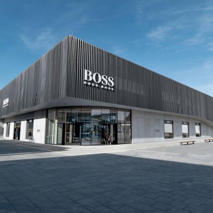 polycon – BV: Hugo Boss / Metzingen