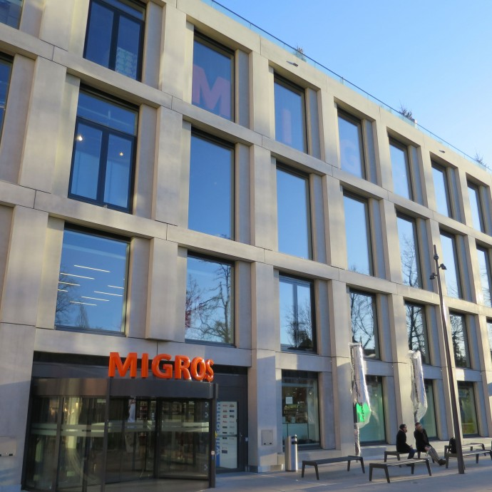 polycon – BV: Migros City in Zürich / CH