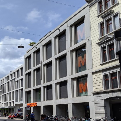 polycon – BV: Migros City in Zürich / CH 2