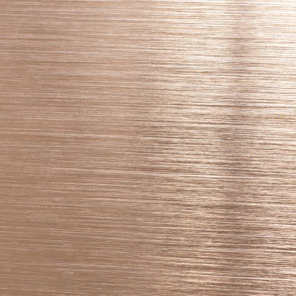 etalbond® – Copper Bright Brushed Anodised (Kupfer eloxiert gebürstet)