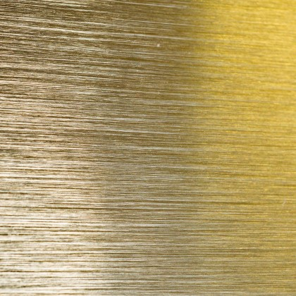 etalbond® – Gold Bright Brushed Anodised (Gold eloxiert gebürstet)